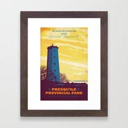 Presqu'ile Provincial Park Framed Art Print