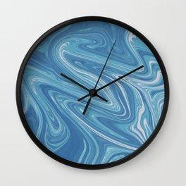 Shade of blue Wall Clock