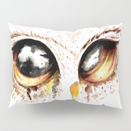Bown owl eye Pillow Sham
