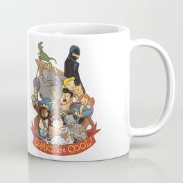 Comics are Cool! Coffee Mug