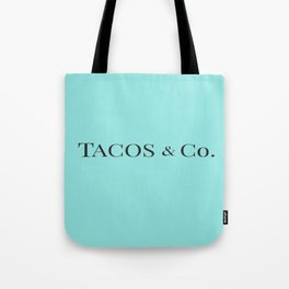 Tacos & co Tote Bag