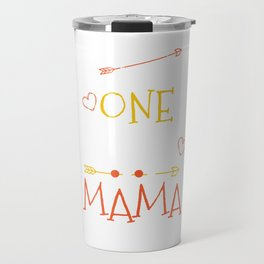 One Thank Mama Happy Thanksgiving Day Travel Mug