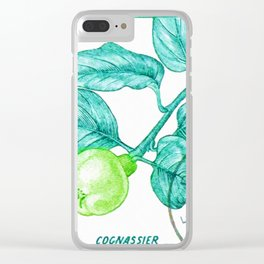 Branch of a Quince tree in Summer Clear iPhone Case
