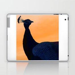 Sunset with Peacock Laptop & iPad Skin