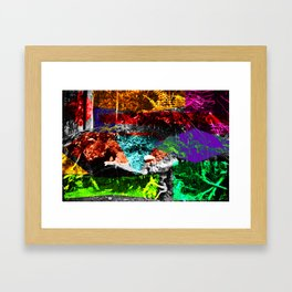 Big dreams Framed Art Print
