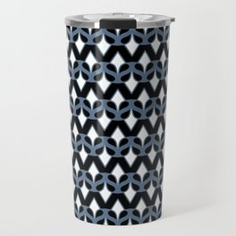 MASQUE - black & blue Travel Mug