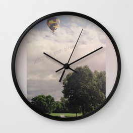 Floating Dreams Wall Clock