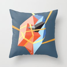 Held in Place Throw Pillow