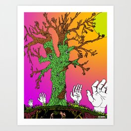 Reach For The Sun Art Print