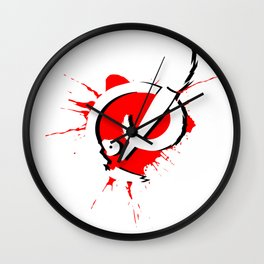 Badass Art Logo v2 Wall Clock