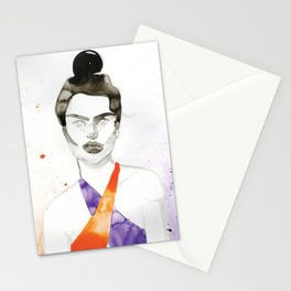 Emily In A Swimsuit Stationery Cards
