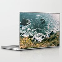 big sur Laptop & iPad Skins featuring Kirk Creek, Big Sur by GBret
