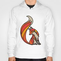 mr fox Hoodies featuring Mr. Fox by Cohen McDonald