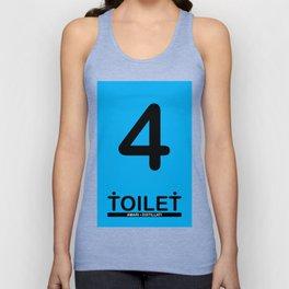 TOILET CLUB #4 Unisex Tank Top