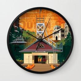 Once a Beacher (Tall) Wall Clock