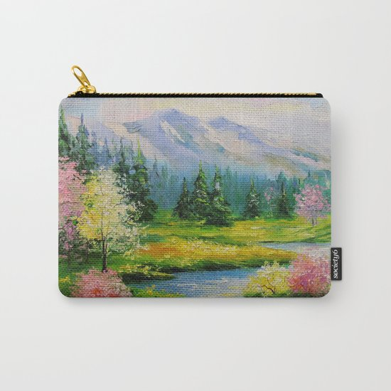 Spring brook Carry-All Pouch