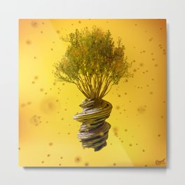 Lemon Spring Metal Print