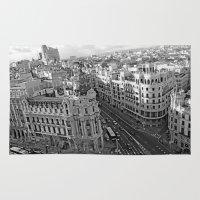 madrid Area & Throw Rugs featuring Madrid by Cristina Serrano