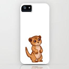 Cute Baby Meerkat iPhone Case