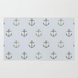 Stormy Nautical Pattern 1 Rug