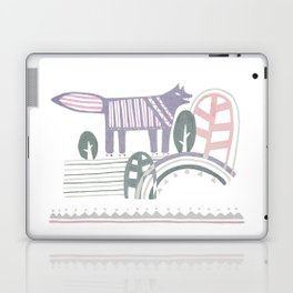 Wolf in forest Laptop & iPad Skin