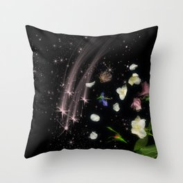 Starfall Throw Pillow