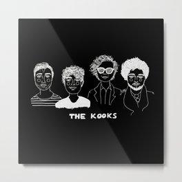 The Kooks (Inverted) Metal Print