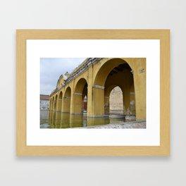 Antigua Guatemala Wash Basins Framed Art Print