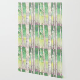 Birch Trees Wallpaper