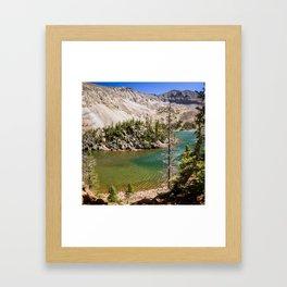 Lake Agnes Colorado Framed Art Print