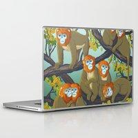 arctic monkeys Laptop & iPad Skins featuring Monkeys by Beesants