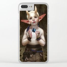 Child of the Forest Clear iPhone Case