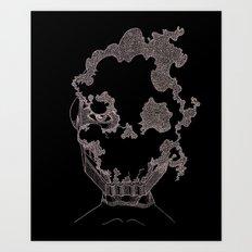 Masque de l'Air (Air Mask) Art Print