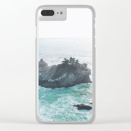 Island Of Paradise Clear iPhone Case