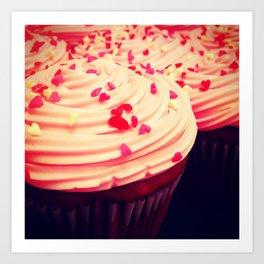 Cupcakes Art Print