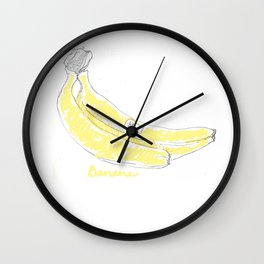 Banane  Wall Clock