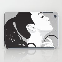 swan iPad Cases featuring Swan by Stevyn Llewellyn
