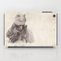 bouletcorp iPad Cases featuring John T. Rex by Bouletcorp