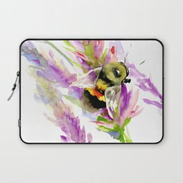 Bee and Flowers Laptop Sleeve