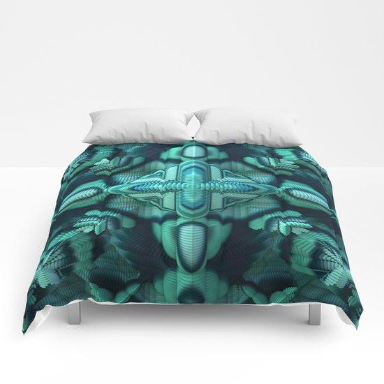 Cool Mint Comforters