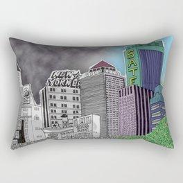 Pollution Rectangular Pillow