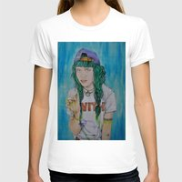 grimes T-shirts featuring Grimes by Jenn