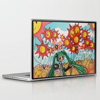 vocaloid Laptop & iPad Skins featuring Hatsune Miku by Reverie Yang