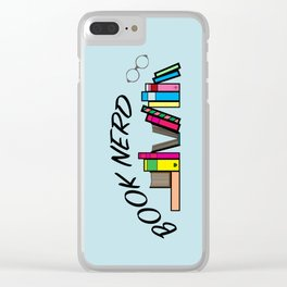 Book Nerd Clear iPhone Case