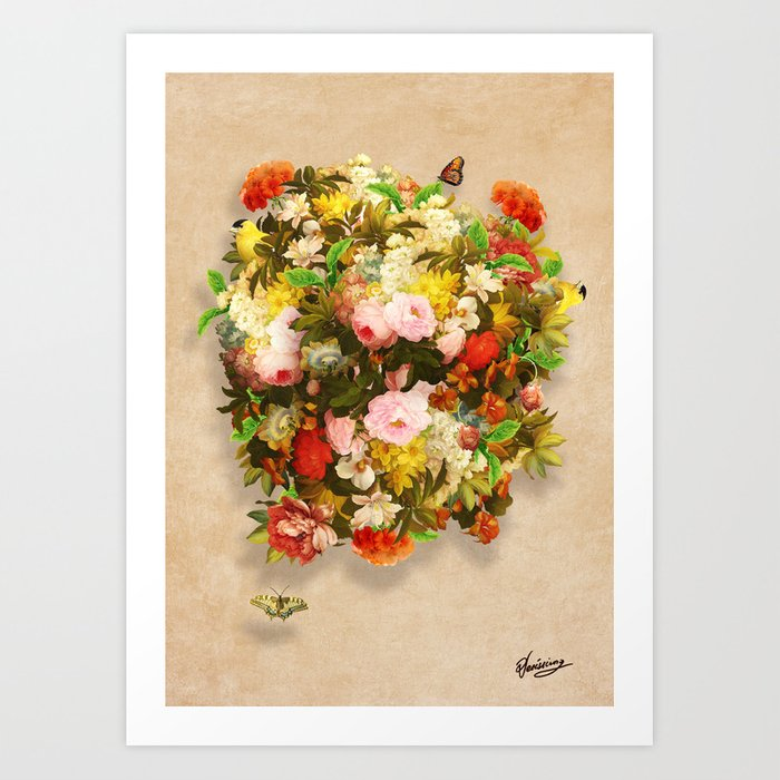 Flourishing Bliss Art Print