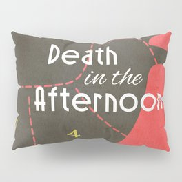Death in the Afternoon, Erenst Hemingway, book cover, classic novel, bullfighting stories, Spain Pillow Sham