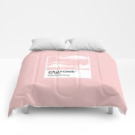 Pantone Series – Daydreaming #2 Comforters