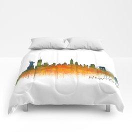 New York City Skyline Hq V02 Comforters