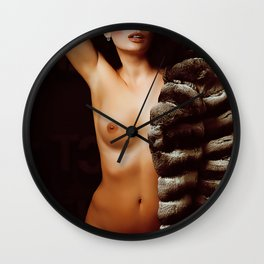 naked women Wall Clock