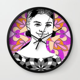 Sel in the stars Wall Clock